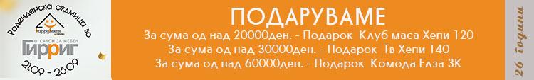 Банер роденден Гир Риг содржини десктоп